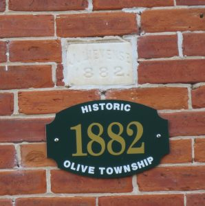 Home History plaque - OTHS