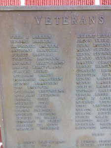 World War II Plaque - part 1