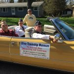 Veterans ride in Dandelion Parade.