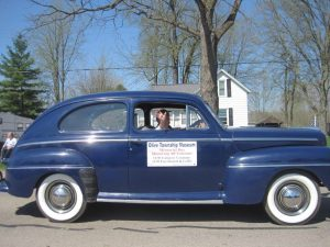 1947 Ford in Dandelion Parade.