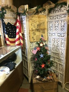 Veteran's Christmas tree