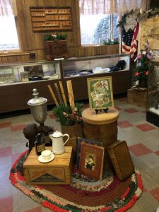 Display of artifacts pertaining to the General Store.