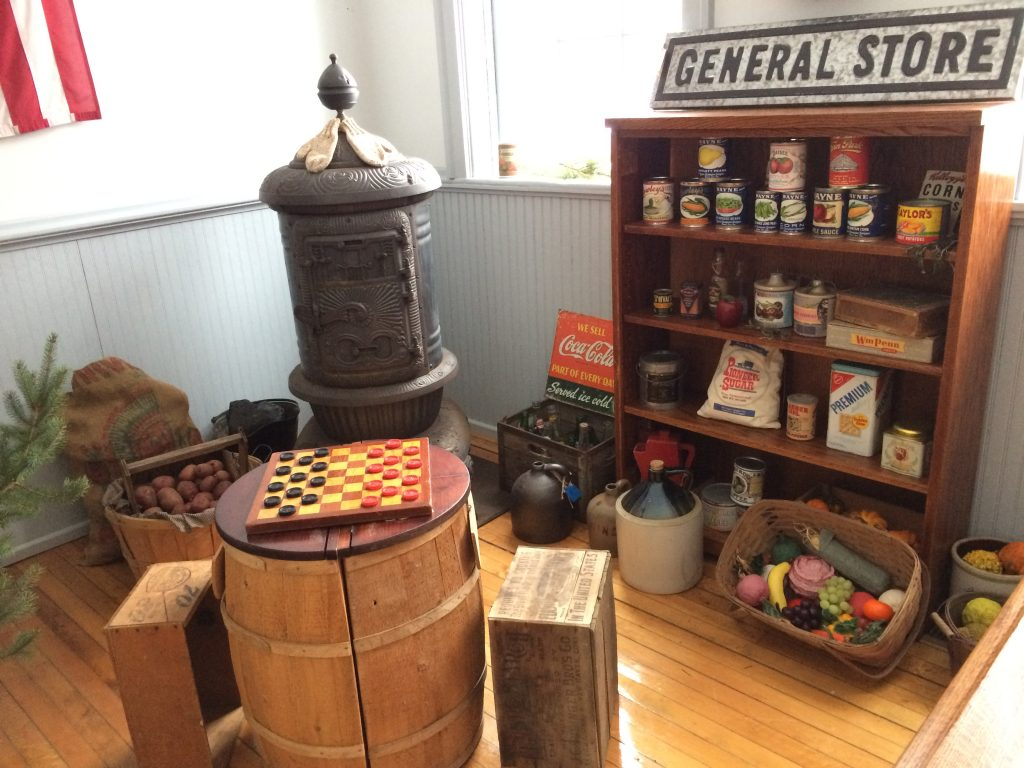 Christmas at the General Store exhibit.