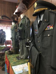 Vietnam War uniforms.