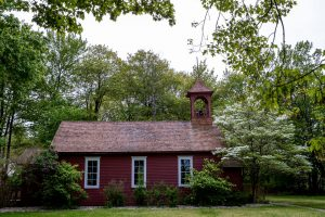 De Witt Schoolhouse in Spring Lake, Michigan.